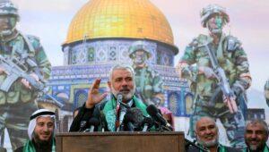 """Der Chef des Hamas-Politbüros, Ismail Haniyeh ruft zur """"Befreiung Jerusalems"""" auf"""