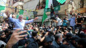 Der Leiter des Hamas-Politbüros Ismail Haniyeh