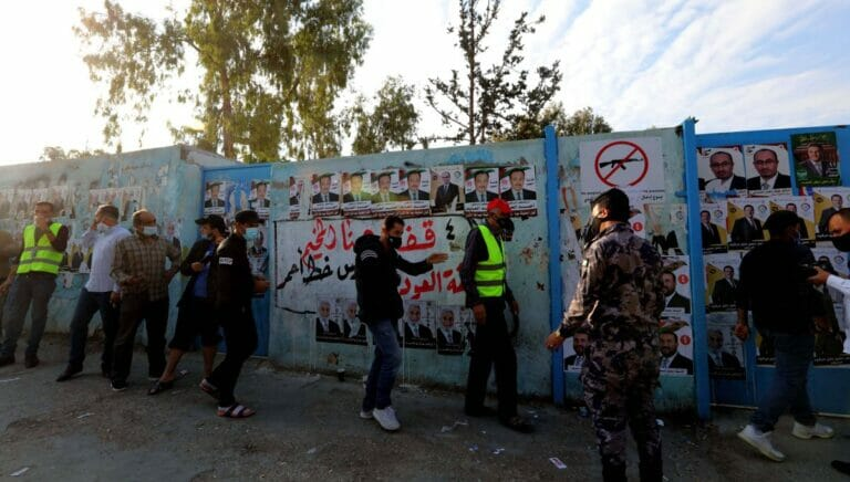 """Nach den Wahlen in Jordanien kam es zu """"Freudenschüssen"""", die nun verboten werden sollen"""