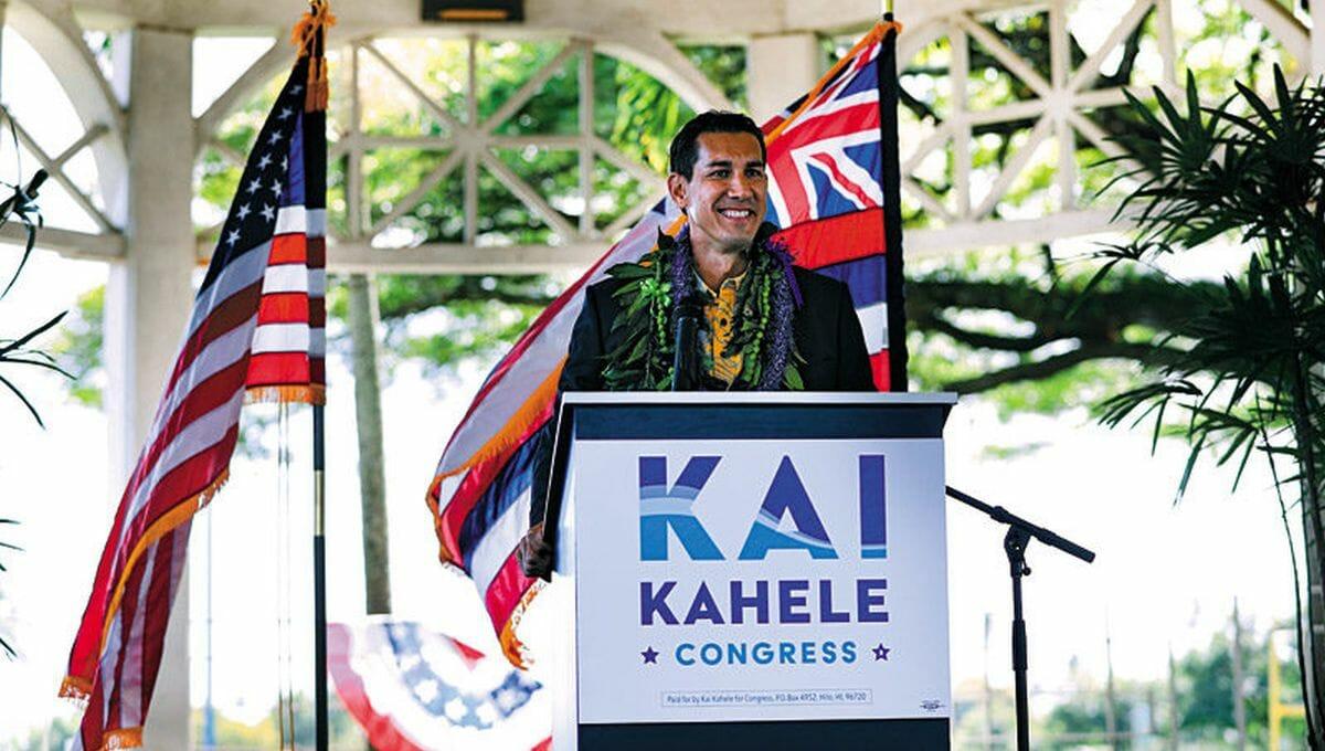 Der demokratische Abgeordnete für Hawaii Kai Kahele