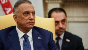 Der irakische Premierminister Mustafa al-Kadhimi
