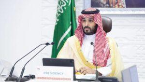 Der saudische Thonfolger Mohammed bin Salman