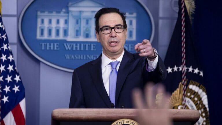 US-Finanzminister Steven T. Mnuchin erläuterte die Sanktionen gegen libanesische Politiker