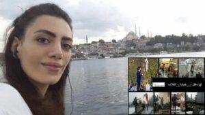 Die iranische Antikopftuch-Aktivistin Nasibeh Shemsai ist in der Türkei von Abschiebung bedroht