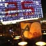 Gedenkveranstaltung zum 25. Jahrestag des Anschlags auf Yitzhak Rabin