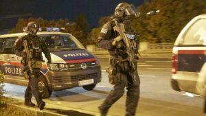 Wiener Polizei im Antiterroreinsatz