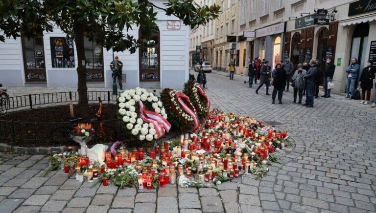 Wien gedenkt der Opfer des Terroranschlags