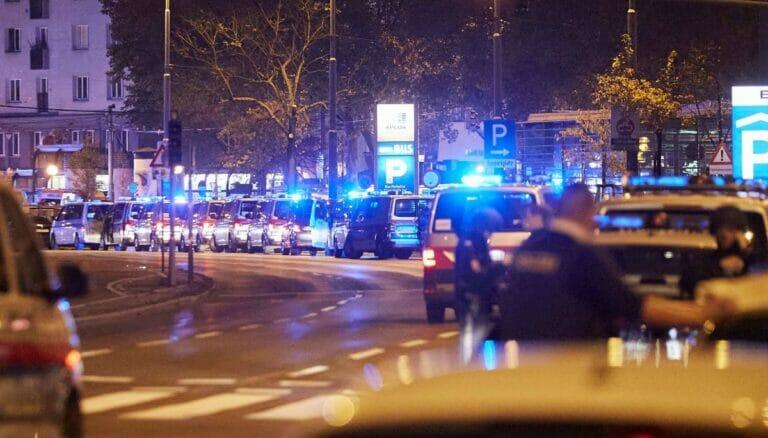 Antiterroreinsatz in Wien