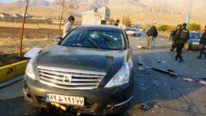 Der Schauplatz der gezielten Tötung von Mohsen Fakhrizadeh am vergangenen Freitag. (© imago images/ZUMA Wire)