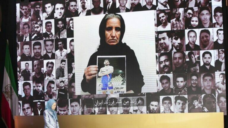 Der vom iranischen Regime hingerichtete Ringer Navid Afkari