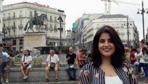 Die saudische Frauenrechtsaktivistin Loujain al-Hathloul