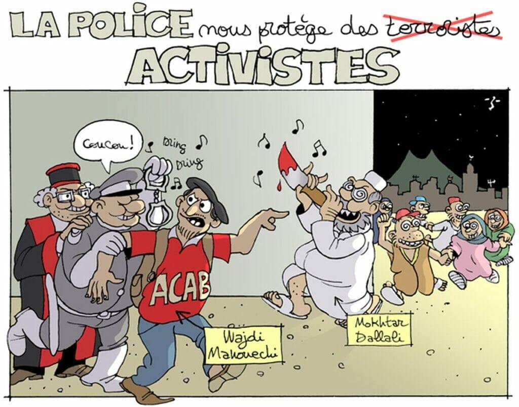 Tunesien: Zwei Jahre Gefängnis – für die Kritik islamistischer Terrorverherrlichung