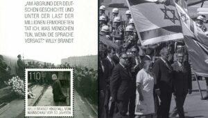 Brandts Kniefall in Warschau, Staatsbesuch in Israel