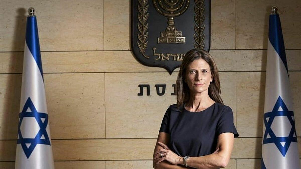 Die Knessetabgeordnete Michal Cotler-Wunsh von der Blau-Weiß-Partei