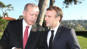 Spannungen zwischen Erdogan und Macron steigen