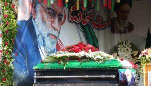 Begräbnis des bei einem Attentat ums Leben gekommenen iranischen Atomwisschenschaftlers Mohsen Fakhrizadeh