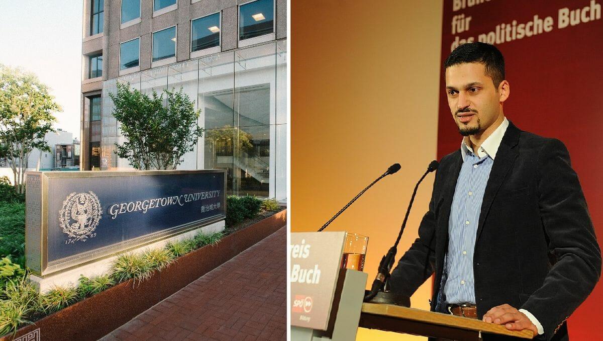 Farid Hafez' Relativierung des NS-Novemberporgroms erschien in einer Publikation der Georgetown-Universität