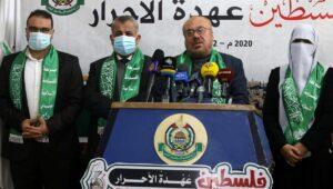Pressekonferenz der Hamas zum 33. Jahrestag ihrer Gründung
