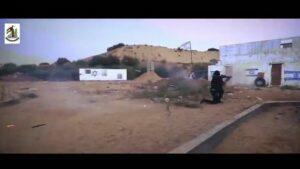 Palästinensisches Porpagandavideo für das gemeinsame Manöver von Hamas, Islamischem Jihad und Fatah