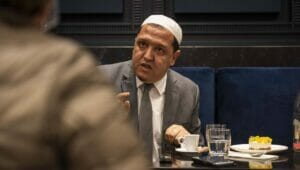 Hassen Chalghoumi musste nach einer Flut von Morddrohungen untertauchen