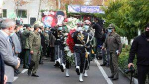 Begräbnis des Brigadegeneral der Revolutionsgarden und Atomwissenschaftlers Mohsen Fakhrizadeh