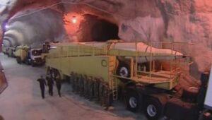 Nicht nur Teile seines Atomprogramms, sondern auch des Raketenprogramms hat der Iran untertage verlegt