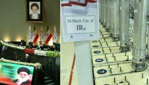 Parlamentssitzung im Iran, Zentrifugen zur Urananreicherung