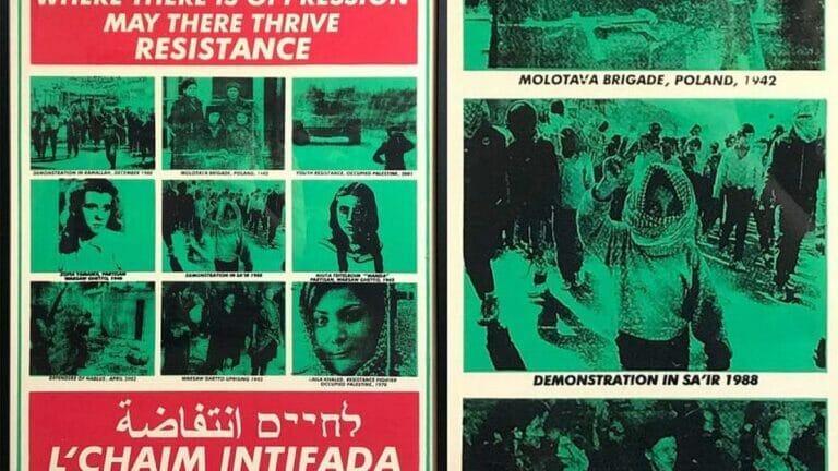 Die Jewish Voice For Peace vergleicht die Erste Intifada mit dem Widerstand gegen die Nazis