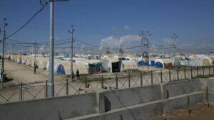 Das Flüchtlingslager Kabarto 2 im Nordirak