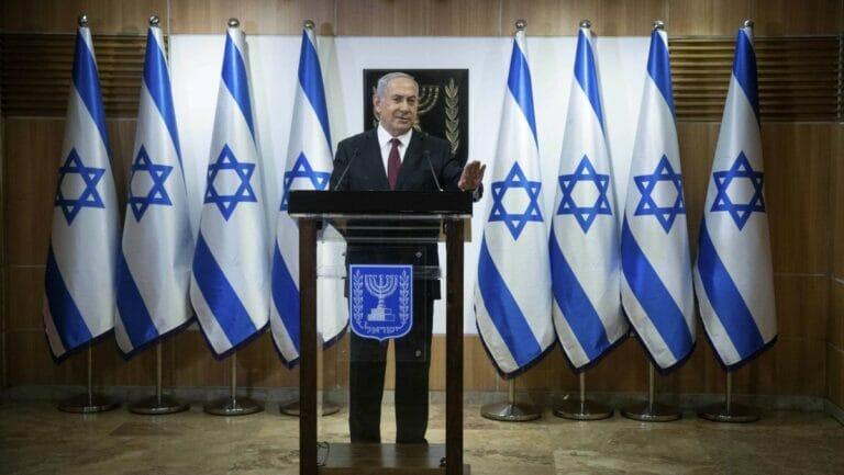 Israel geht in die nächste Wahl: Pressekonferenz von Premier Netanjahu