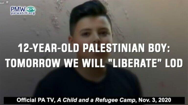 """PA-TV erklärt Kinder, dass sie """"Flüchtlinge"""" seien, die """"zurückkehren"""" würden"""