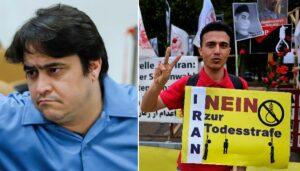 Ruhollah Zam, Protest gegen die Todesstrafe