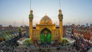 Der vom irakischen Großayatollah al-Sistani beaufsichtigte Imam-Ali-Schrein in Najaf