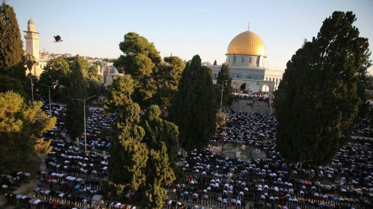 Jerusalems Mufti erklärt, der Tempelberg gehöre allein den Muslimen