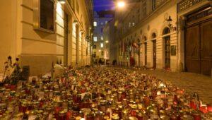 Gedenken an die Terroropfer von Wien