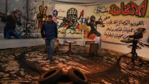 Studio des Fernsehsenders Al Aqsa TV