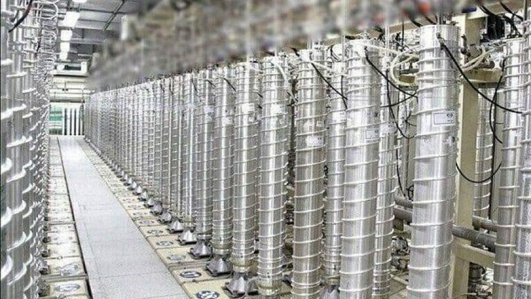 Iranische Zentrifugen zur Urananreicherung