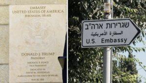 Die von Trump verlegte US-Botschaft wird in Jerusalem bleiben