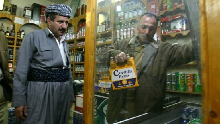 Mehrere Spirituosenläden im Irak wurden zum Ziel von Bombenanschlägen