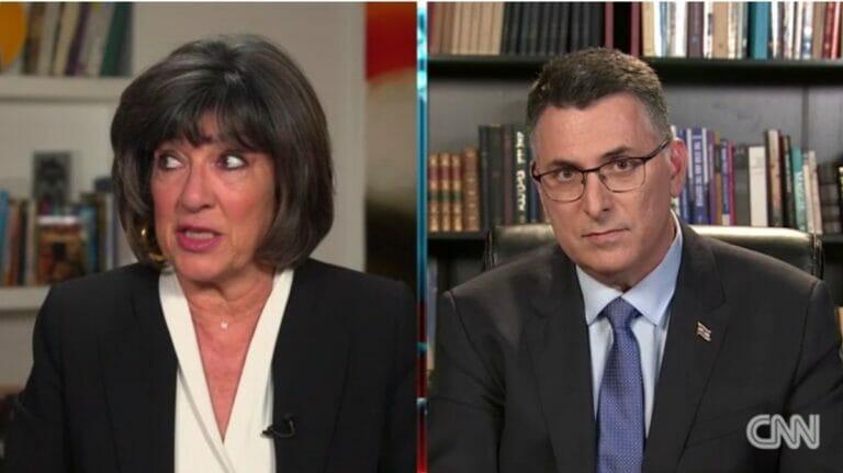 Christiane Amanpour kann nicht fassen, dass die Palästinensische Autonomiebehörde für die Impfungen zuständig sein soll