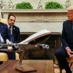 Der irakische Premierminister Mustafa al-Kadhimi und US-Präsident Trump