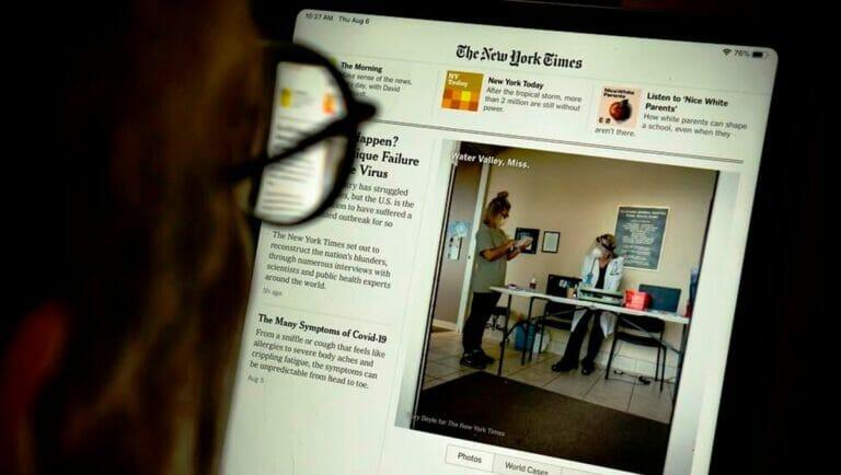 Bislang hat die New York Times es verabsäumt, über die Vorwürfe gegen ihren Gastautor zu berichten. (© imago images/Levine-Roberts)