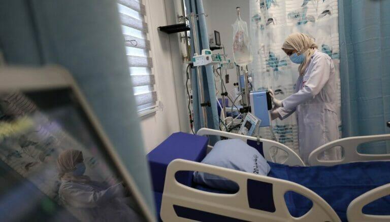 Palästinensische Autonomiegebiete: Neu eröffnetes Corona-Spital in Nablus
