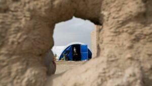 Die Jesiden im Irak müssen immer noch in Flüchtlingslagern leben