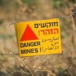 An der israelischen Grenze auf den Golanhöhen. (© imago images/Schöning)