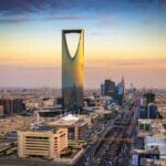 Eine ballistische Rakete der Huthis wurde über Riad abgefangen, der Hauptstadt Saudi-Arabiens. (© imago images/Design Pics)