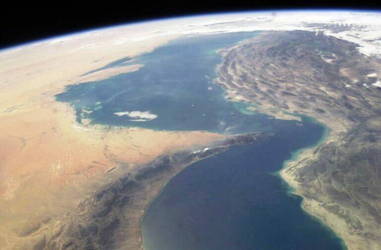 Der Angriff auf das israelische Schiff ereignete sich im Golf von Oman, wo die iranischen Revolutionsgarden schön mehrfach Schiffe attackiert haben. (© imago images/StockTrek Images)