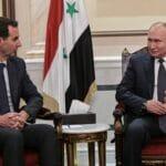 Syriens Diktator Bashar al-Assad weiß, wem er sein Überleben zu verdanken hat. (© imago images/ITAR-TASS)