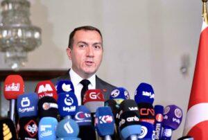 Der türkische Botschafter im Irak, Fatih Yildiz, findet die Ermahnungen durch seinen iranischen Amtskollegen mehr als entbehrlich. (© imago images/Xinhua)