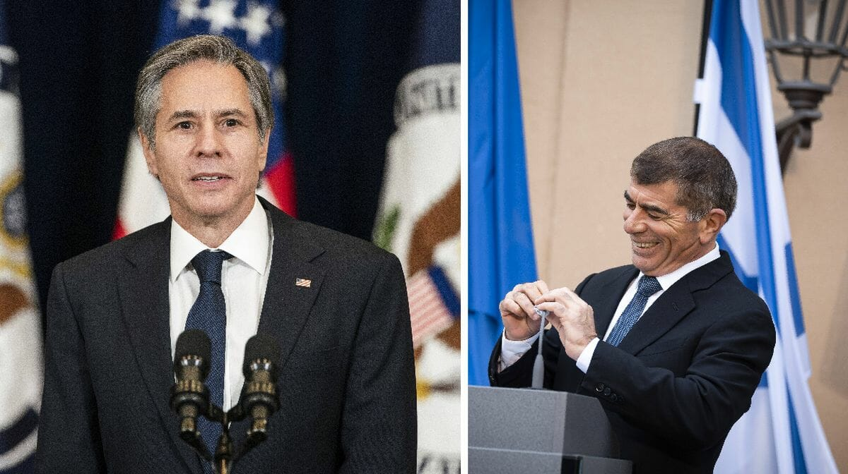 US-Außenminister Blinken und sein israelischer Amtskollege Ashkenazi